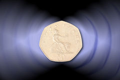Fifty pence Stock Photos