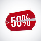 Fifty percent Stock Images