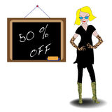 Fifty percent off Stock Photography