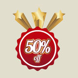 Fifty percent off Stock Images