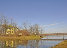 Fifty Point Conservation Area, historic building Royalty Free Stock Photo