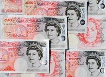 Fifty Pound Notes - Great Britain Royalty Free Stock Image