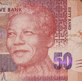 Fifty Rand, Nelson Mandela Stock Photo