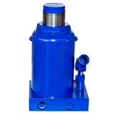 Fifty tonn Hydraulic Bottle Car Jack. On white background stock photo