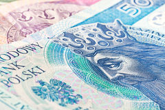 Fifty zloty banknote Stock Photo