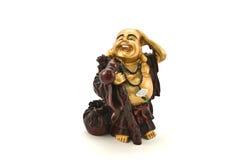 Figürchen des Buddhas Stockfotografie