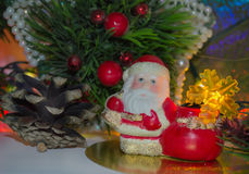 Figürchen von Santa Claus stockfotografie