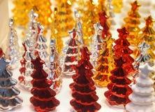 Figürchen-Weihnachtsbaum Stockbild