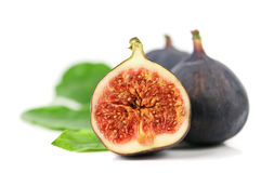 Fig. Isolated on white background Stock Photos