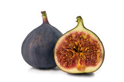 Fig. Isolated on white background Royalty Free Stock Images