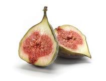 Fig. Fresh fig cut in half Royalty Free Stock Image