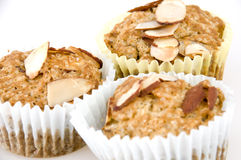 Fig and Almond Muffin Royalty Free Stock Image