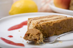 Fig cake Stock Photography