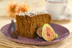 Fig Cake Stock Image