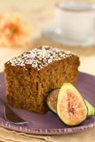 Fig Cake Royalty Free Stock Photos