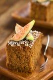 Fig Cake Royalty Free Stock Photos