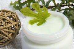 Fig cream Stock Images