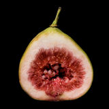 Fig cross-section Royalty Free Stock Images