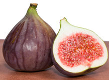 Fig Cut in Half Stock Photos