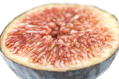 Fig cut in half Royalty Free Stock Photography