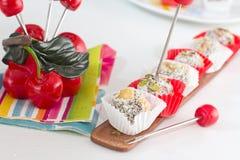 Fig Dessert, Cezerye Stock Images