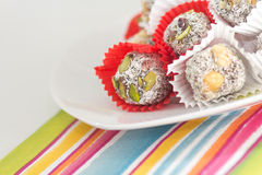 Fig Dessert, Cezerye Royalty Free Stock Image