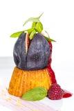 Fig dessert Stock Photography