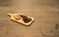 Fig. en abrikoos Royalty-vrije Stock Afbeelding