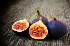 Fig Fruit. Beautiful Fresh Juicy Fig Fruit close-up Royalty Free Stock Photography