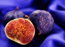 Fig fruit closeup Royalty Free Stock Photos