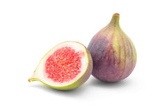 Fig fruit. Isolated on white Stock Image