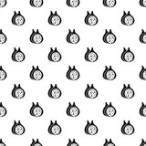 Fig fruit pattern vector. Fig fruit pattern seamless in simple style vector illustration Stock Image
