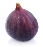 Fig fruit on white Stock Images