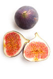 Fig fruit on white background Royalty Free Stock Photo