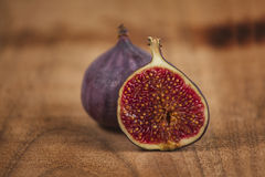 Fig fruits. Beautiful fig fruits close-up Stock Photography