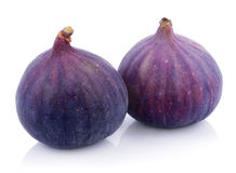Fig fruits on white Royalty Free Stock Photography