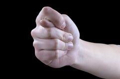 fig gestów ręka Obrazy Royalty Free