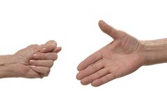 Fig hand sign Royalty Free Stock Photography