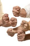 Fig Hand signs Stock Photography
