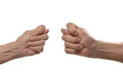 Fig hand signs Royalty Free Stock Photography