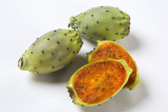 Fig of India. On white background stock photography