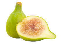 Fig isolated. In white background Royalty Free Stock Photo