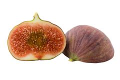 Fig Isolated Royalty Free Stock Photography
