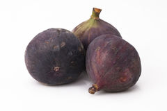 Fig. Isolated figs with on white background Royalty Free Stock Photography
