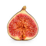 Fig isolated on white. Background Stock Photography