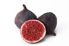 Fig. Isolated fig with a white background Royalty Free Stock Images
