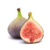 fig isolerad white Arkivfoto