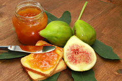 Fig jam Royalty Free Stock Image