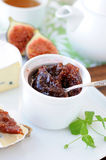 Fig jam Stock Photography