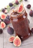 Fig jam Royalty Free Stock Photography